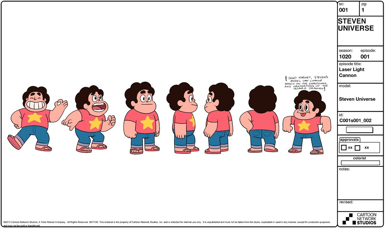 Character Design References Website : Steven universe pinterest