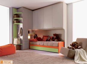 Ponte Cameretta ~ Cameretta a ponte rachele furnishing bedroom camerette design