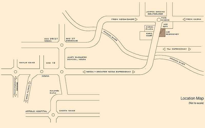 Nri Residency Pari Chowk Greater Noida- Price list, Floor ...