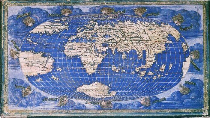 Ch4 rossellis 1508 world map national maritime museum greenwich ch4 rossellis 1508 world map national maritime museum greenwich england gumiabroncs Images