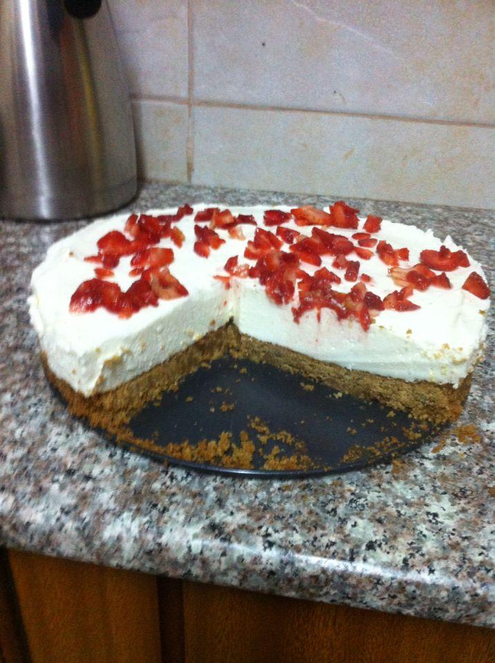 Cream cheese cake...tastes amazing!