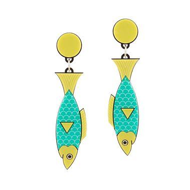 Sardines Earring