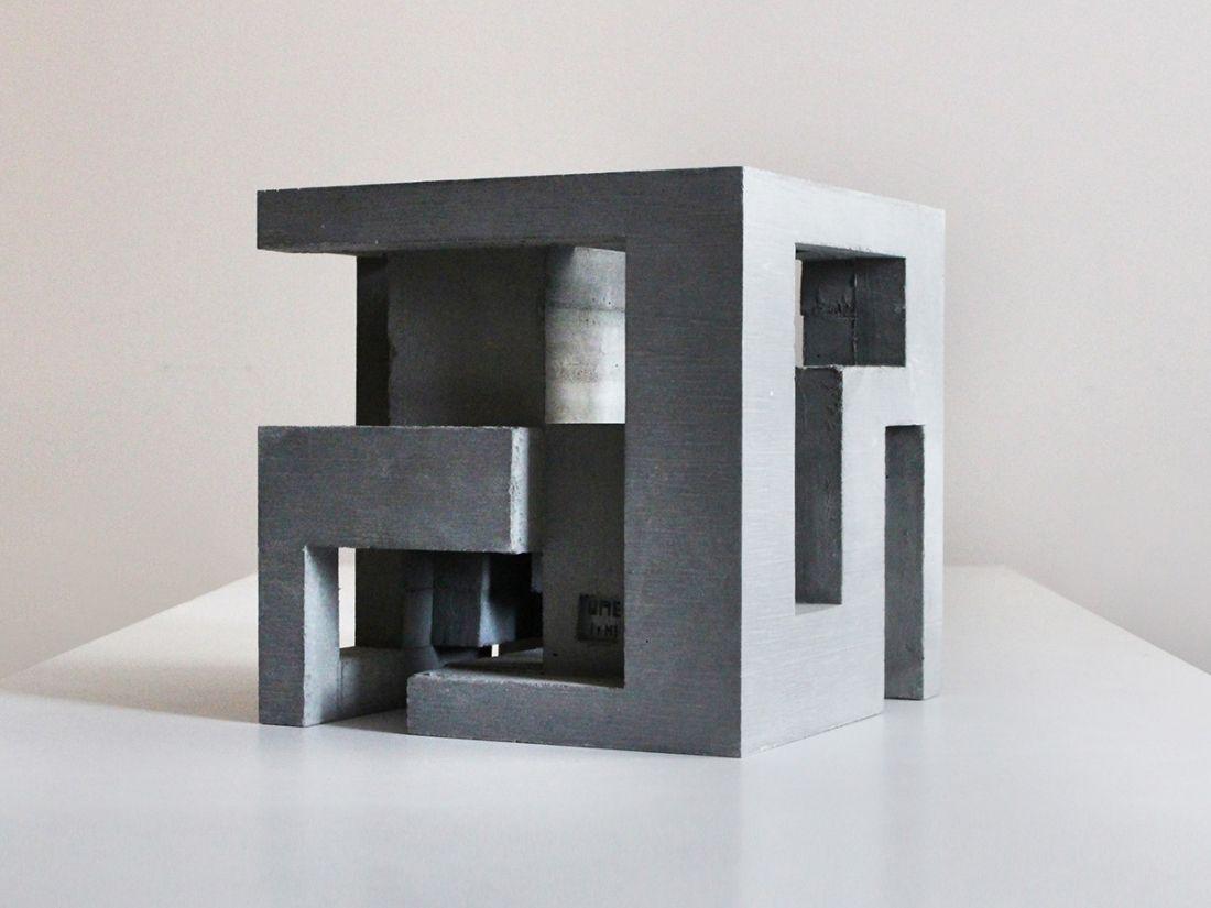 Photo of Concrete modular sculptures that create an optical illusion by David Umemoto   C…