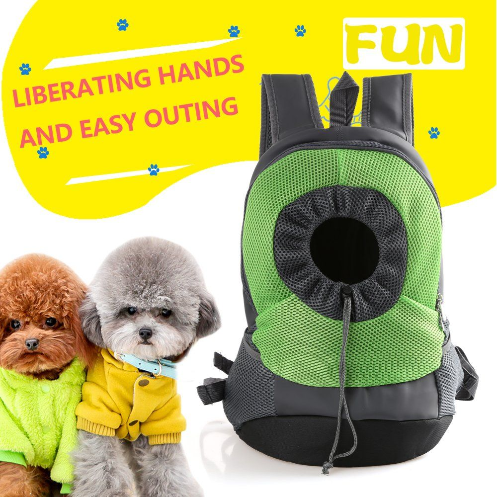 35b6428236e9 Wollgord Dog Carrier Backpack Pet Nylon Hiking Breathable Puppy ...