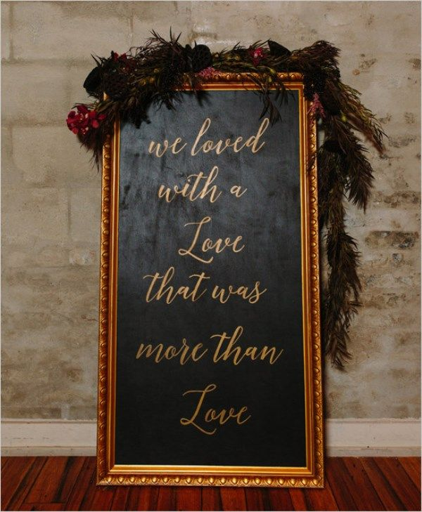Wedding Ideas And Inspirations: Www.weddingomania.com Edgar-allen-poe-inspired-moody-black