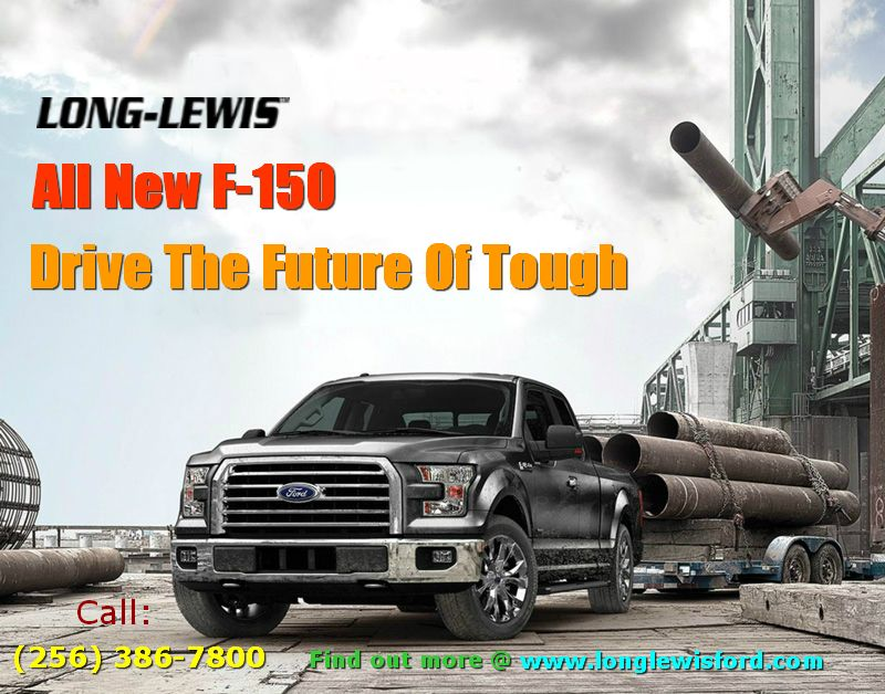 The All New Ford F-150 with high-strength, military-grade, aluminum ...