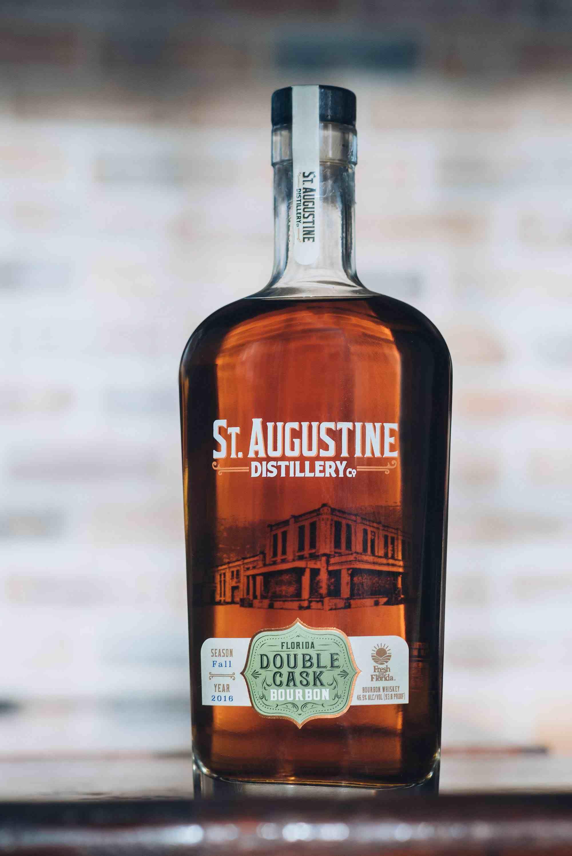 St Augustine Florida Double Cask Bourbon Viski