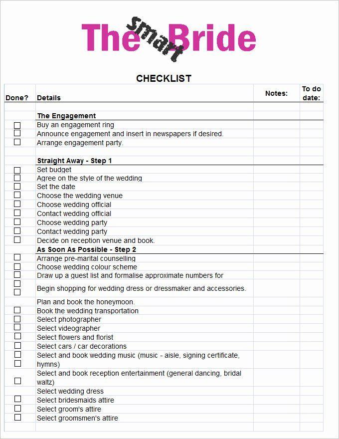 Wedding Photo Checklist Word Document Best Of Wedding
