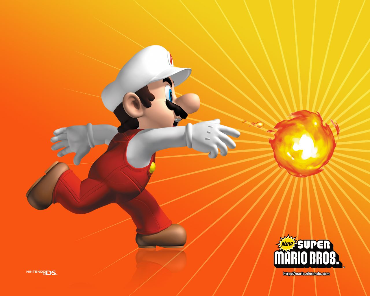 Super Mario Bros Hd Wallpapers And Backgrounds マリオ マリオ