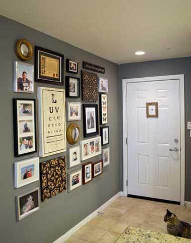 50 fotos e ideas para decorar entradas recibidores halls o entraditas modernas - Decorar Un Recibidor