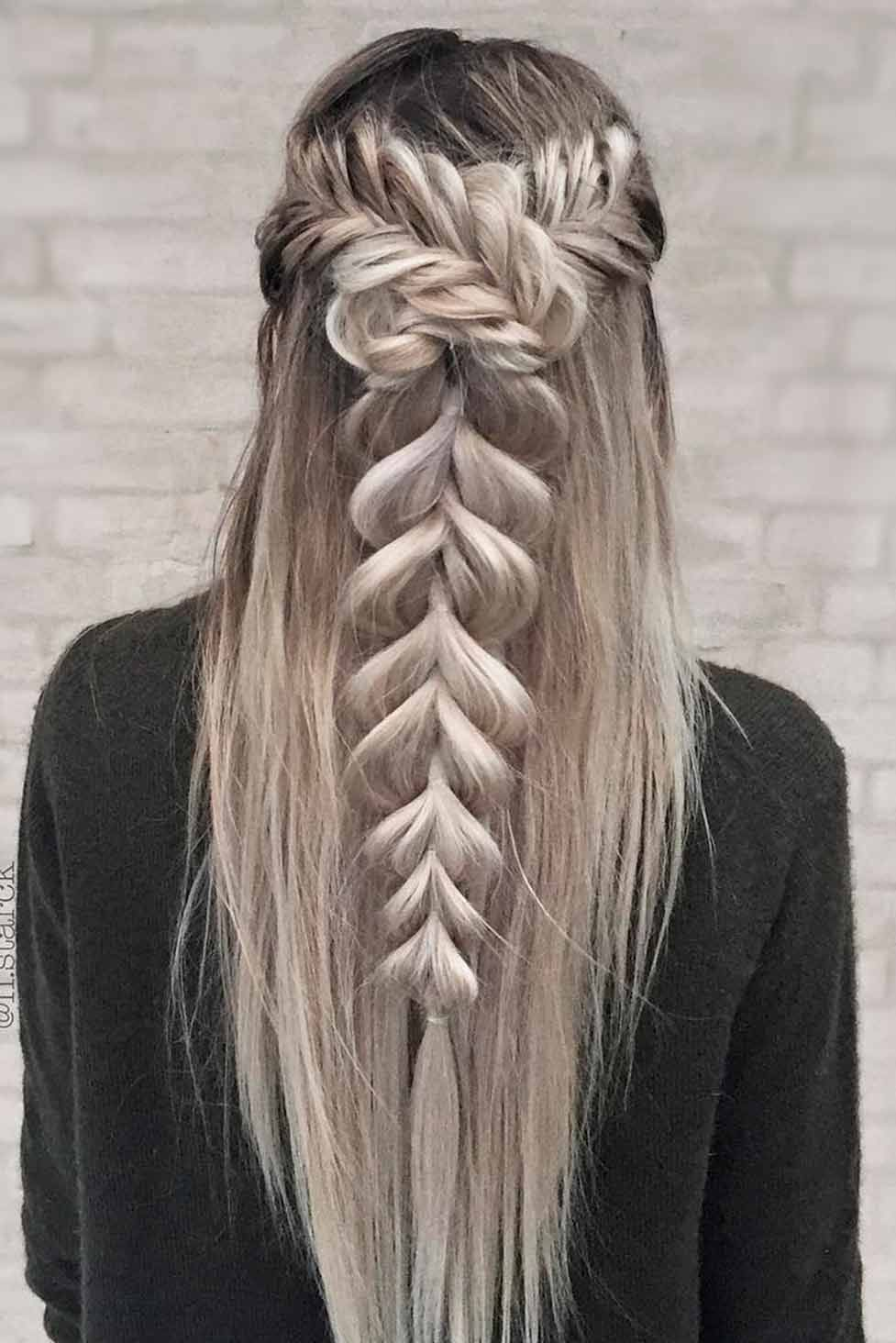 Amazing braid hairstyles for christmas party and other holidays