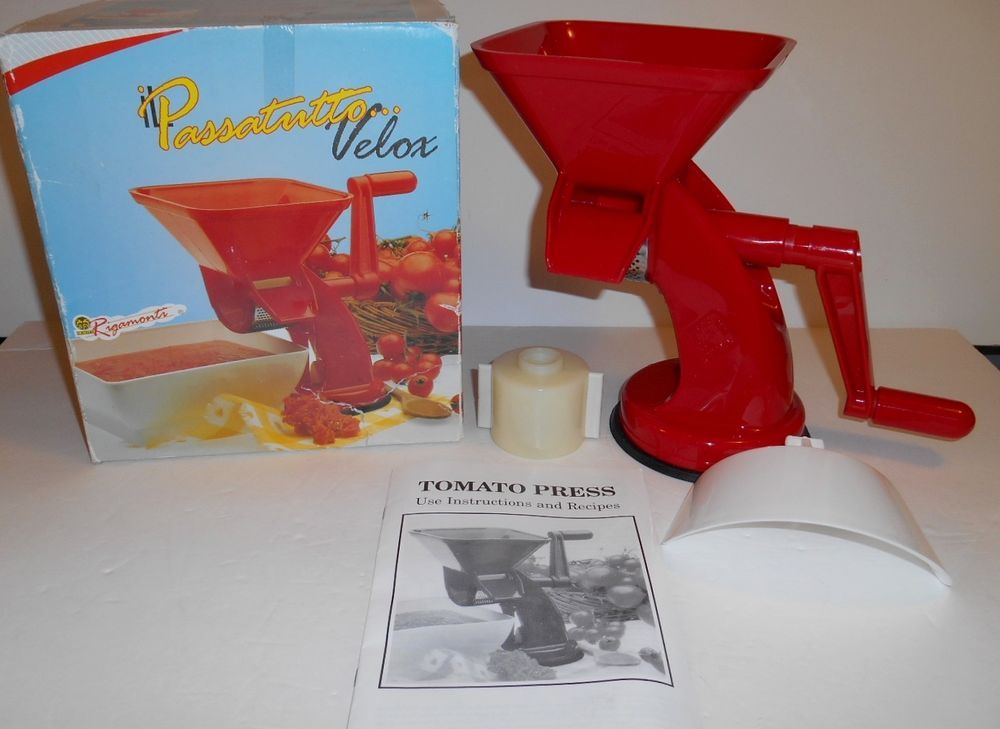 Rigamonti Passatutto Velox Vegetable Tomato Press Made In