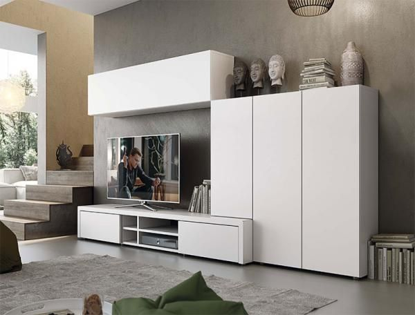 Pin by ruby faroque on tvwall tv stand with storage - Tv storage units living room furniture ...