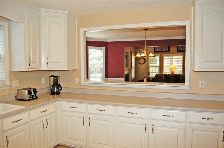 Kitchen Pass Through Window Oh Look It S An Average Everyday Kitchen Like The Pass T Kitchen Remodel Small Kitchen Pass Pass Through Kitchen
