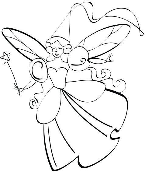 Printable PDF Princess Coloring Page