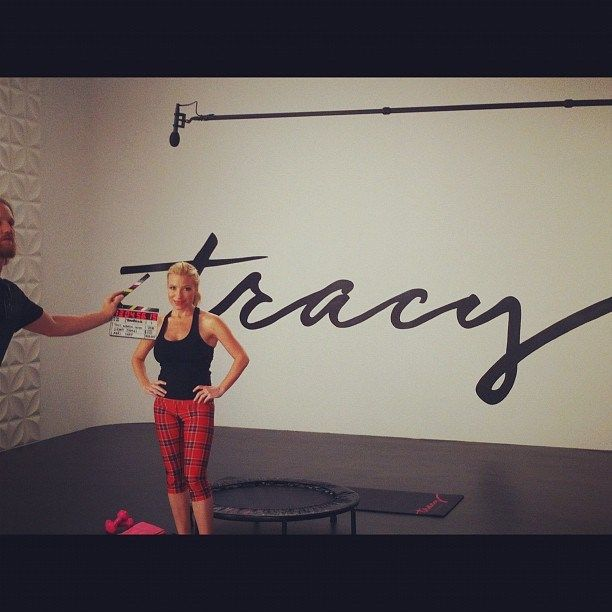 Tracy Anderson's Total Body Mini Trampoline Workout