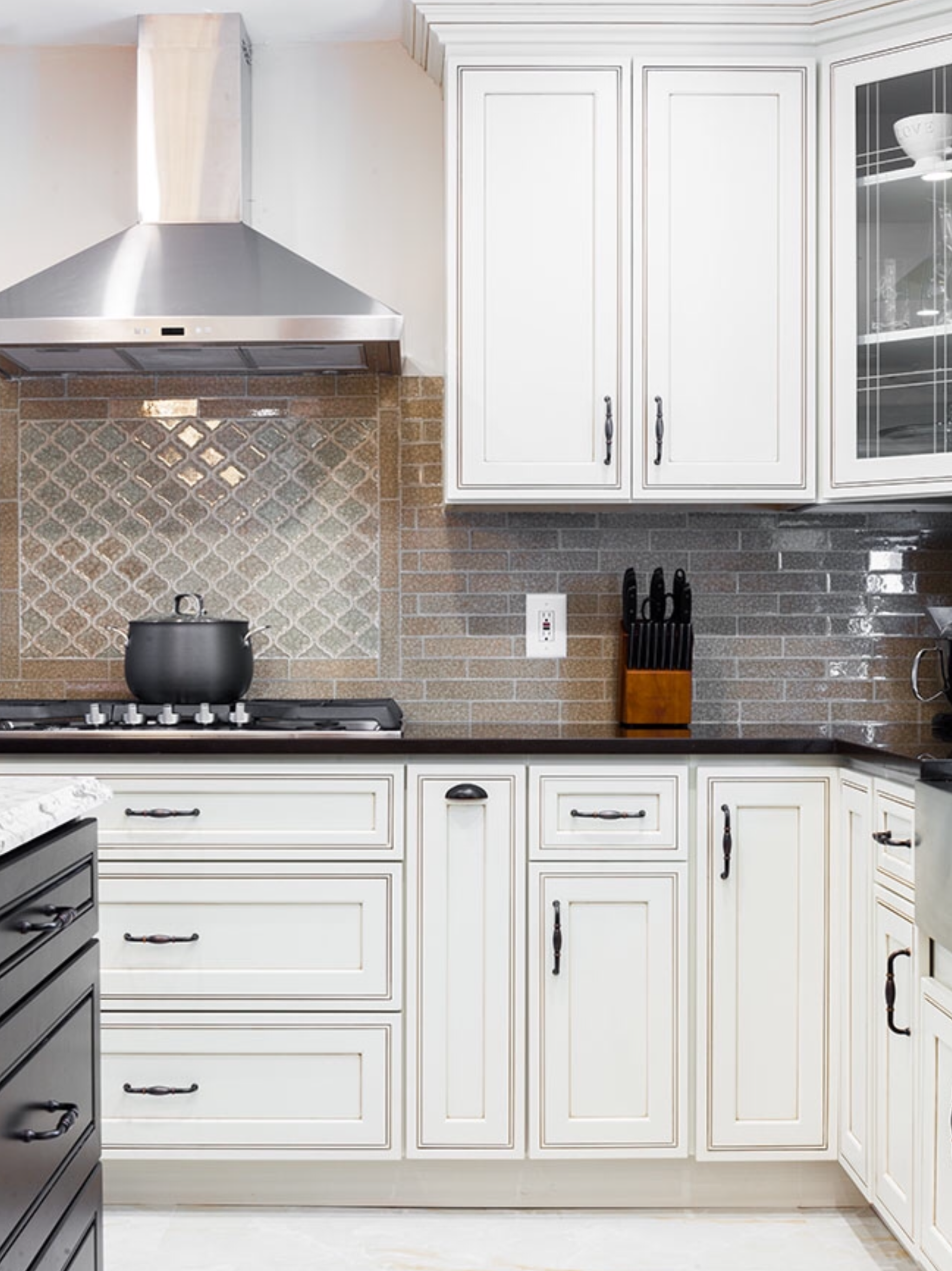 Pearl Maple Glazed Cabinets image by abc kitchens ...