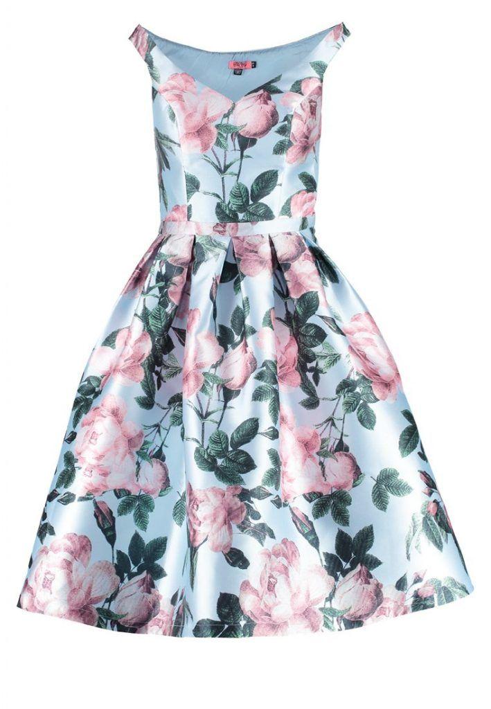 Chi Chi London BEATRICE Cocktailkleid / festliches Kleid multicolor ...