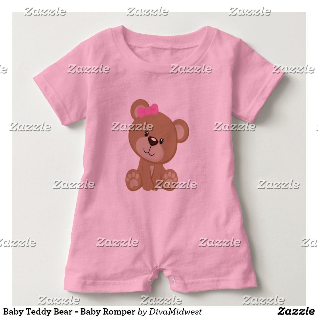 3290ecef1e9 Baby Teddy Bear - Baby Romper