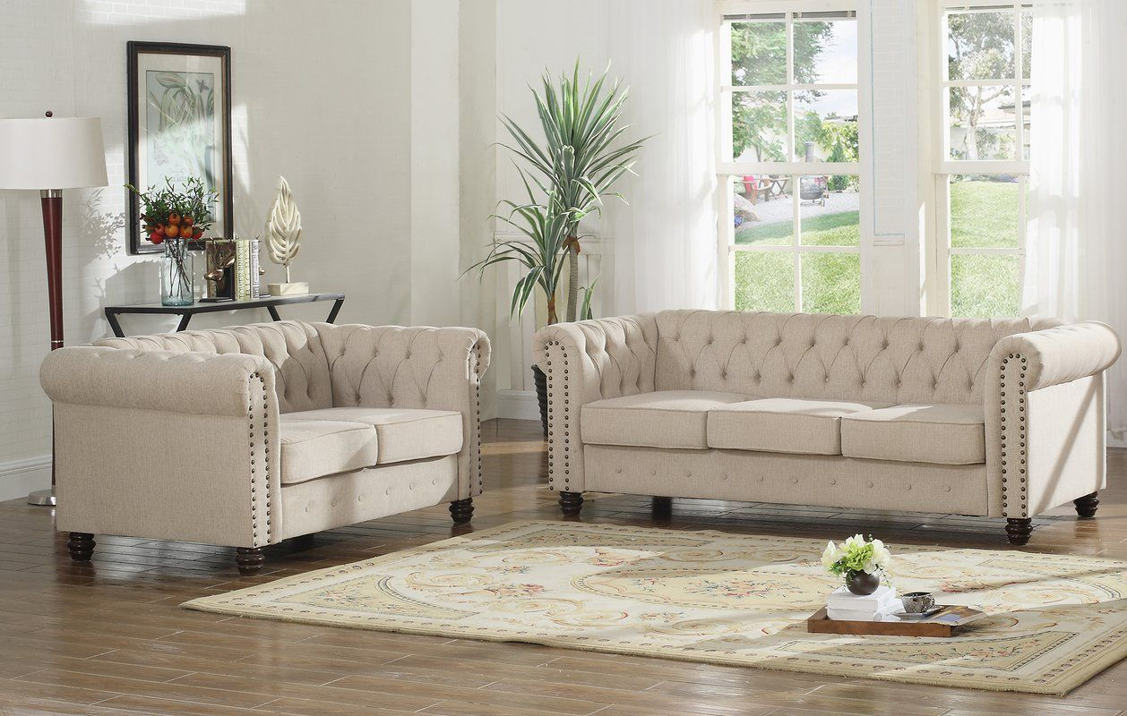 sweetbriar 2 piece living room set with images  cheap