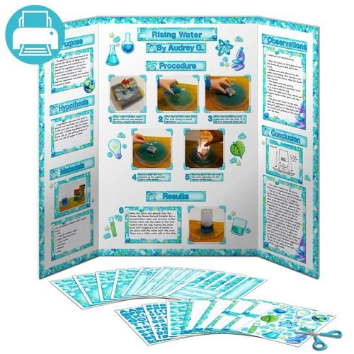 science fair poster kit education pinterest science fair