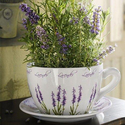 Lavender Love The Lavender Teacup Vase Lovely Lavender