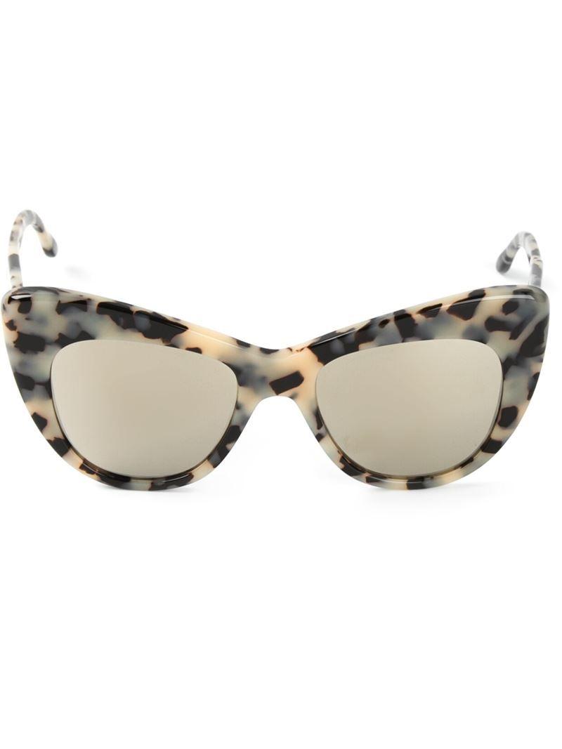 d64b7b79e59 STELLA MCCARTNEY cat eye sunglasses on Vein - getvein.com ...