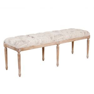 Wondrous Paris Printed Bench Things For The New House Bench Ibusinesslaw Wood Chair Design Ideas Ibusinesslaworg