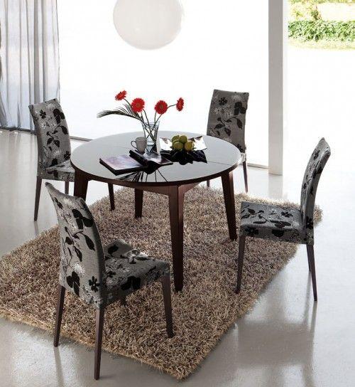 mesa madera redonda extensible pool Mesas de comedor, Muebles de