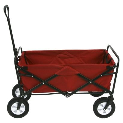 Mac Sports Folding Wagon Red Heritage Makers Folding