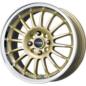 DRAG DR-41 Gold Wheel/Rim (for the Miata)