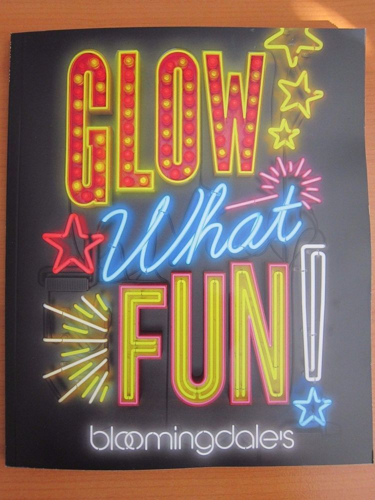 New Bloomingdale S Glow What Fun 2016 Holiday Catalog
