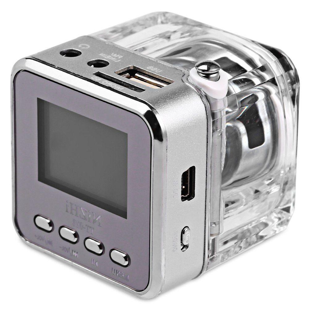 Nizhi Tt 028 Mini Portable Speaker Multimedia Usb Small Fm Radio Led Wireless Stereo Bests Speakers For Phone Mobile