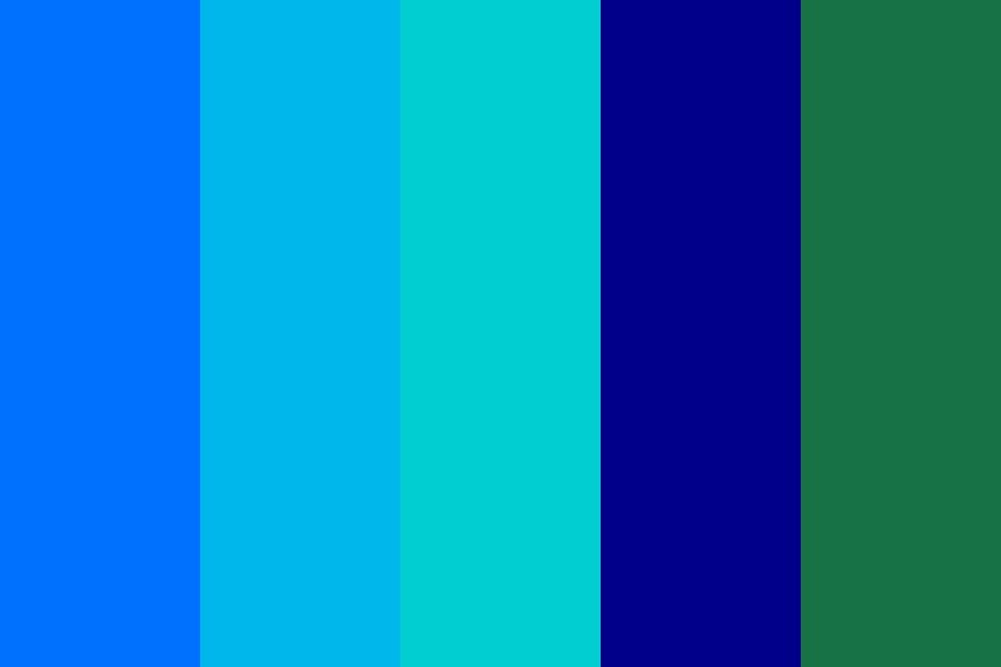 Aquamarine And Sapphire Color Palette Aqua Color Palette Color Palette Sapphire Color