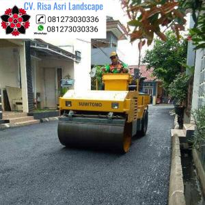 No1 Jasa kontraktor Pengaspalan Jalan Hotmix Murah Bekasi