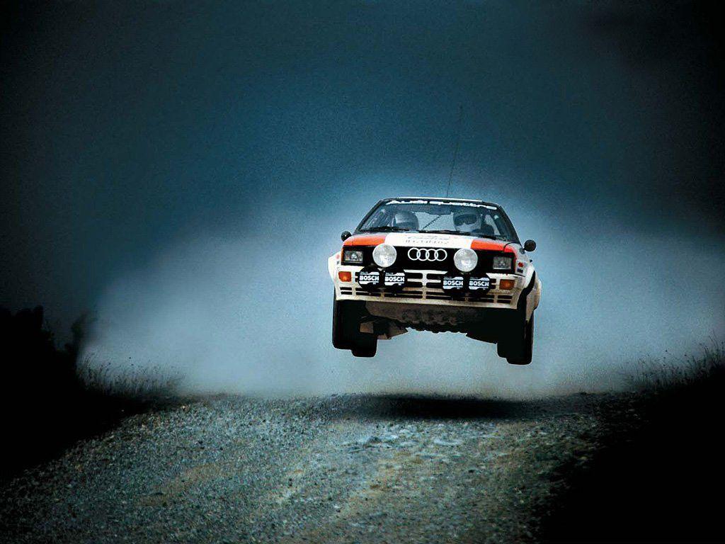 Audi Ur Quattro Jump Rally Car Audi Quattro Audi Sport