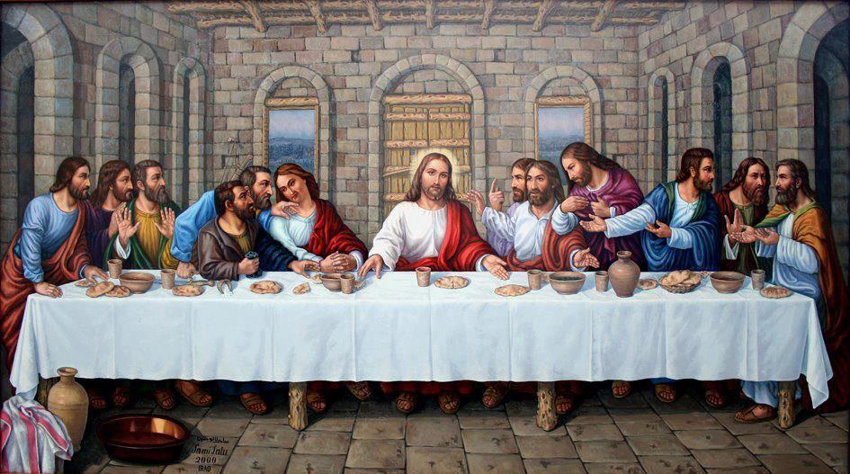 Pin De Robert Azzi En Jesus Ultima Cena De Jesus La Ultima Cena Imagen De Cristo