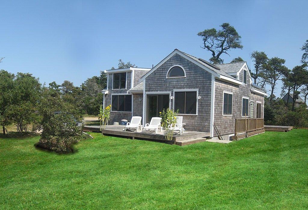 Beautiful modern green home on nantucket vrbo