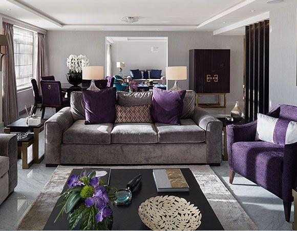 Purple Living Room Ideas Living Room Decor Purple Purple Living
