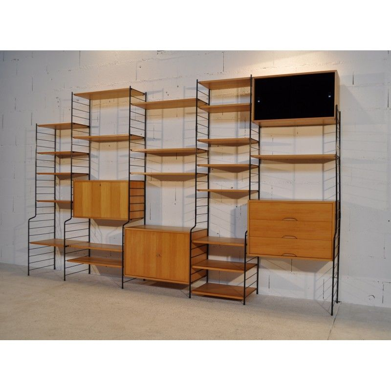 Etag re modulable vintage ann es 70 design market and vintage - Etagere modulable ikea ...