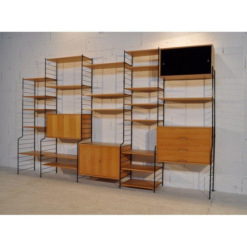 Etagère modulable vintage années 70 design market