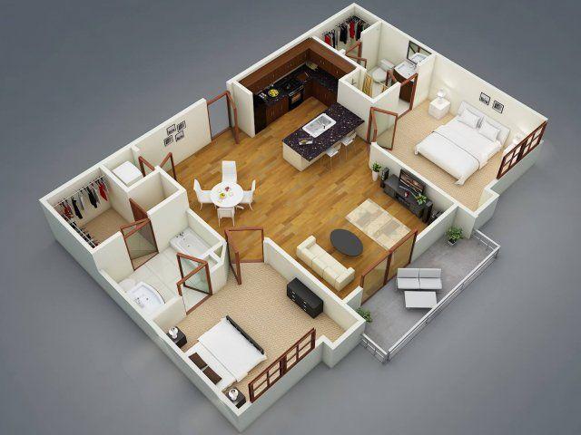 The Rhett 2 Bed 2 Bath Apartment In Greenville Sc 400 Rhett House Plans Apartment Floor Plans