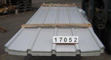 Trapezprofil 25 268 4 Dach 0 50 Mm Polyester Ral 9002 Grauweiss