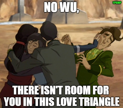 Lol Sorry Wu It S Already Complicated Enough As It Is Legend Of Korra And Avatar Korra Avatar Legend Of Korra Avatar Funny