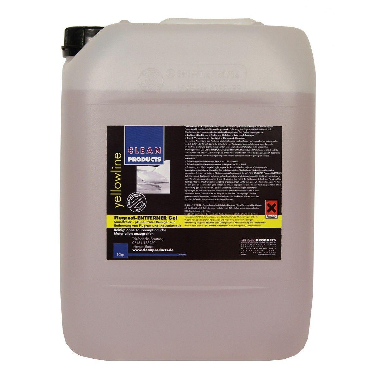 Cleanproducts Flugrost Entferner Gel 10 Kg Zum Entfernen