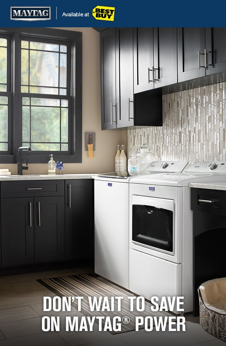 Get Powerful Black Friday Deals On Maytag Washer And Dryer Pairs Now Through 11 29 17 Luxury Kitchen Design Kitchen Design Decor Home Building Tips