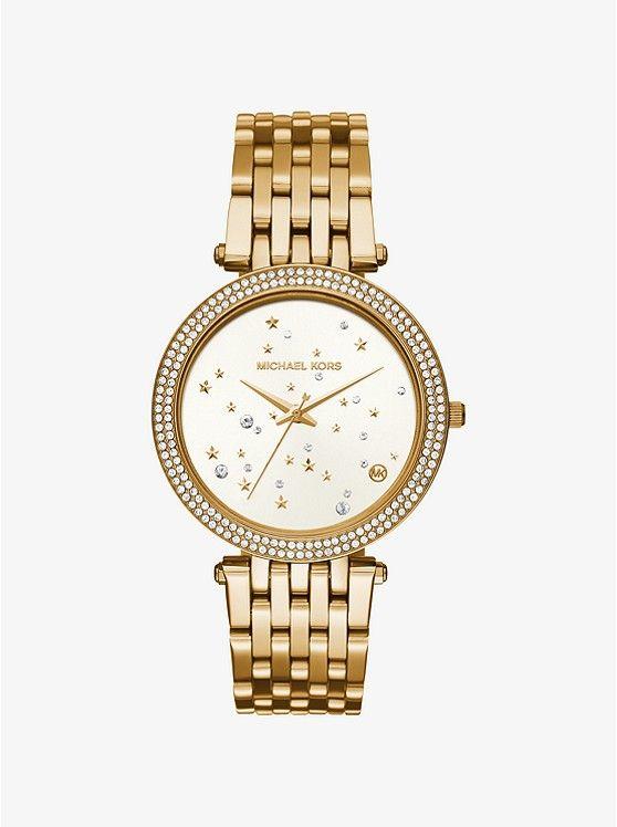 4f9f80b68fb9 Darci Celestial Pavé Gold-Tone Watch preview0. Darci Celestial Pavé Gold- Tone Watch preview0 Michael Kors Watch ...