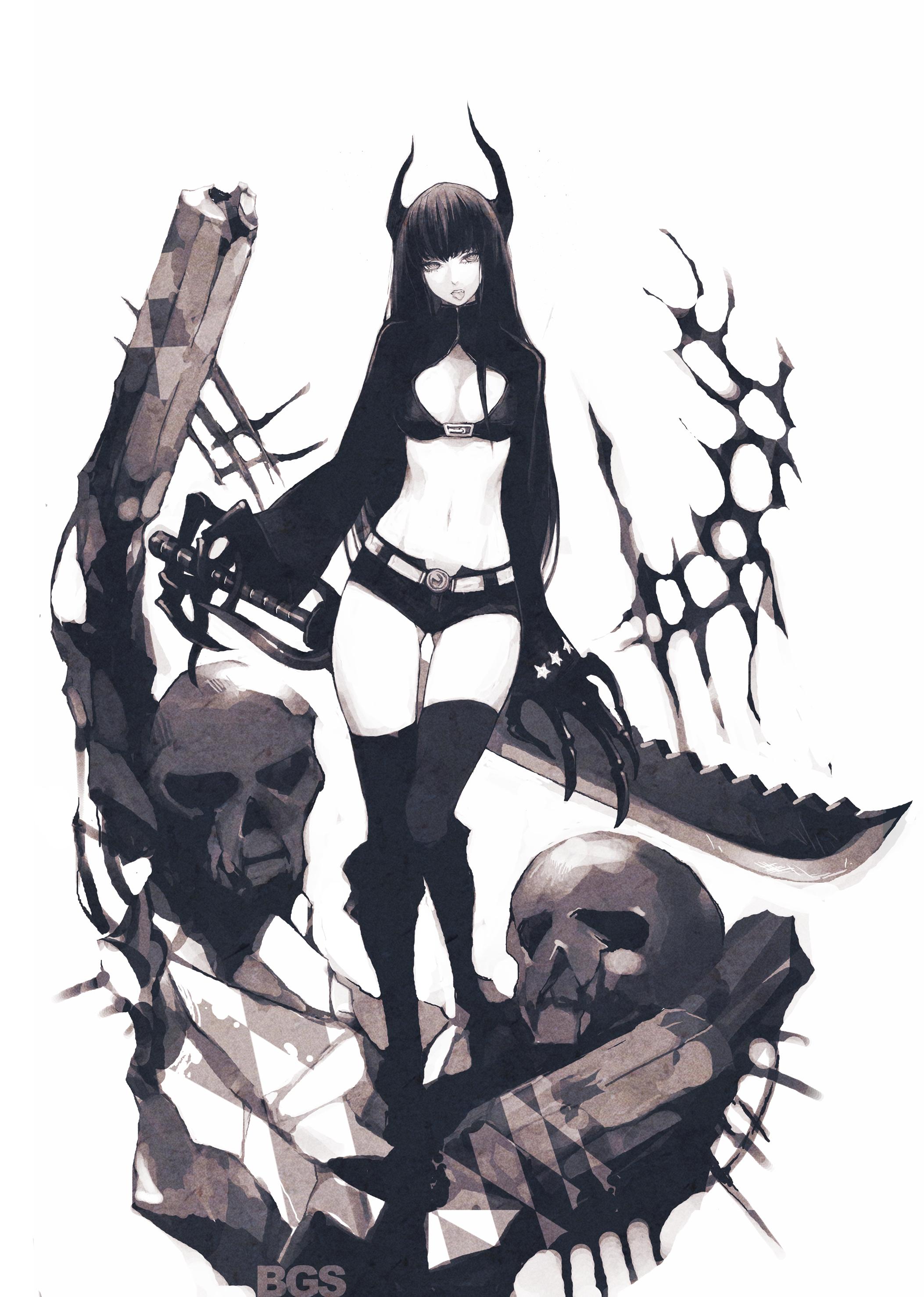 AR Black Djinn Anime Pinterest