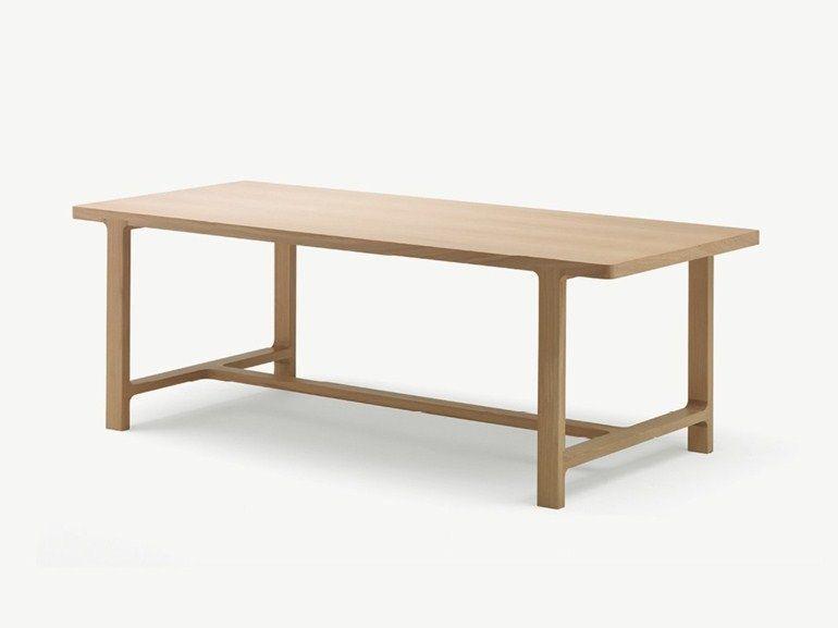 Tavolo Bjursta ~ Emea tavolo by alki rettangolare in rovere in legno massello