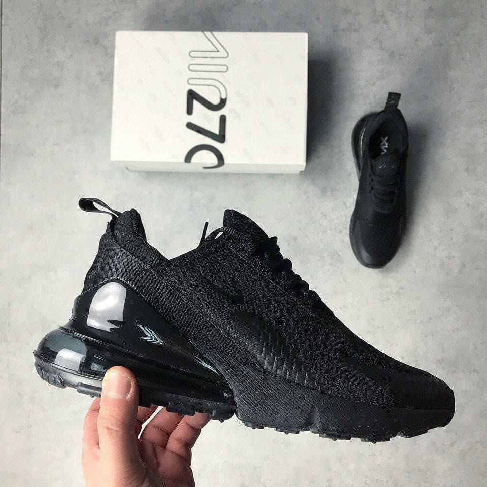 Nike Air Max 270 Triple Black Exclusive Shoes